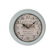 Blue Wall Clock 20cm
