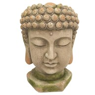 Buddha Planter Green 35x50cm