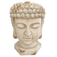 Buddha Planter White 35x50cm