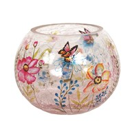Butterfly Globe Tealight Holder 10cm