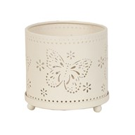 Butterfly Tea Light Hurricane 10.5cm