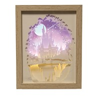 Castle Light Up Box 23.5x18cm