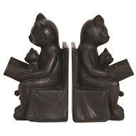 Cat Bookends 19cm