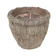 Ceramic Vase Wax Filled Candle  20cm