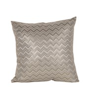 Chevron Cushion Champagne 45cm