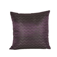 Chevron Cushion Purple 45cm