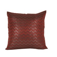 Chevron Cushion Red 45cm