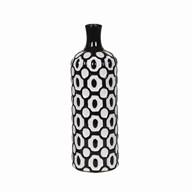 Circles Design Vase 32.5cm
