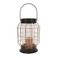 Copper Lantern 30cm