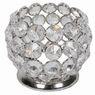 Crystal Tealight Holder 7cm