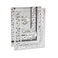 Crystal Tealight Holder 15cm