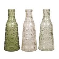 Decorative Bottle 26cm 3 Assorted