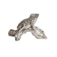 Decorative Silver Frog 20cm