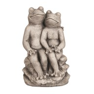 Decorative Garden Frog Statue 38cm