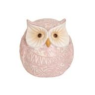 Pink Decorative Owl 12.5cm