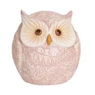 Pink Decorative Owl 16cm
