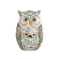 Blue Decorative Owl 17cm