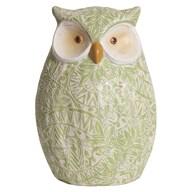 Green Decorative Owl 23.5cm