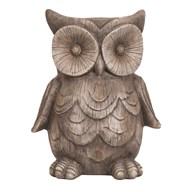 Decorative Owl Planter 33x30cm