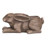 Decorative Rabbit Planter 38x18cm