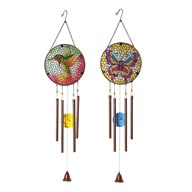 Decorative Windchime Glass 2 Assorted 86cm