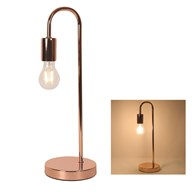 Desk Lamp Rose Gold 47cm