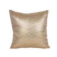 Diamond Cushion Gold 45cm