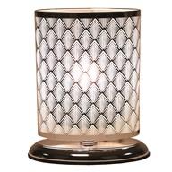 Diamond Oval Touch Lamp 27x19cm