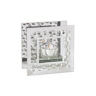 Diamond Tealight Holder 12cm