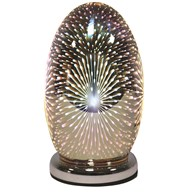 3D Dome Touch Lamp Fountain 25cm