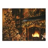 Fibre Optic Christmas Warmth 30x40cm