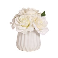 Floral Arrangement White 20cm
