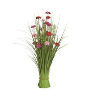 Grass Floral Bundle Azalea 70cm