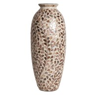 Floral Capiz Vase 51cm