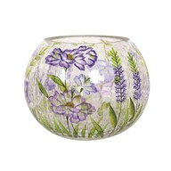 Floral Globe Tea-light Holder 10cm