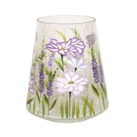 Floral Pillar Holder 22cm