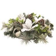 White Floristry Centrepiece 51cm