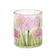 Floral Tea-light Holder 7cm