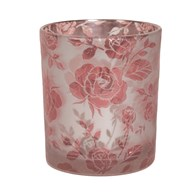 Floral Tealight Holder 10cm