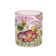 Floral Tealight Holder 7cm