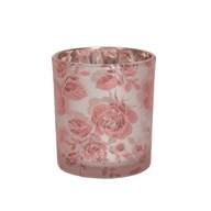Floral Tealight Holder 8cm
