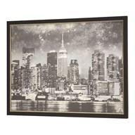 Framed Print New York 90x120cm