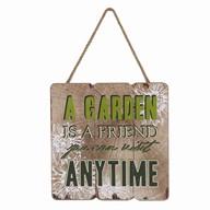 Garden Plaque 25cm