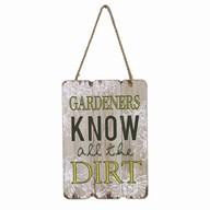 Gardeners Plaque 29cm