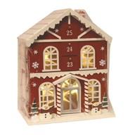 Gingerbread House Advent Box 37cm