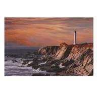 Glass Art 80x120cm Lighthouse