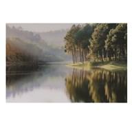 Glass Art 80x120cm Tranquil Lake