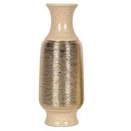 Gold Etched Vase 40cm