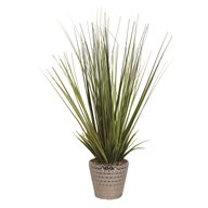 Artificial Grass Decorative Pot 40cm