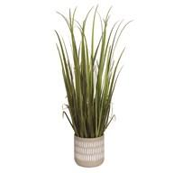 Artificial Grass Decorative Pot 88cm